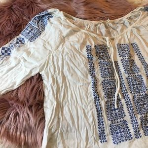 solitaire Tops - Beachy Blouse