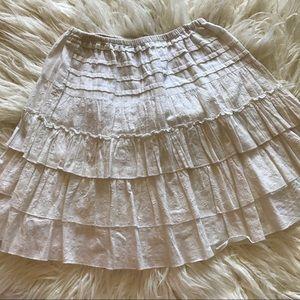 Lipstick Boutique Dresses & Skirts - Boho White Eyelet Skirt