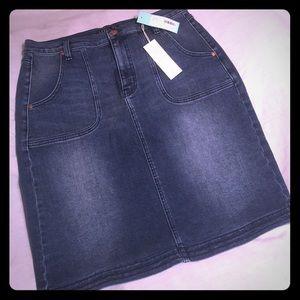 Level 99 Dresses & Skirts - Stitch Fix Level 99 Kaori Denim Skirt New Size 31