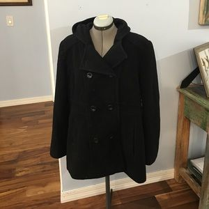 Anne Klein Jackets & Blazers - Peacoat with hood