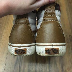 Vans Shoes - Grey Aztec High Top Vans 01ce7dfeb