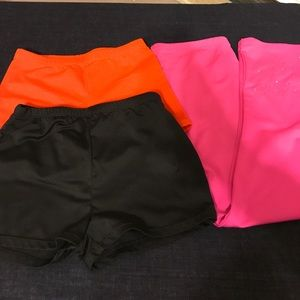 Freestyle Other - Girls Dance Shorts And Leggings, 10/12