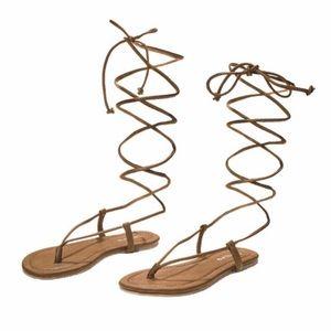 Pilyq Shoes - Gladiator Sandal by PilyQ