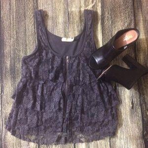 Pins & Needles Tops - Beautiful lace blouse