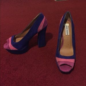 Steven by Steve Madden Shoes - Steve Madden suede high heels worn once