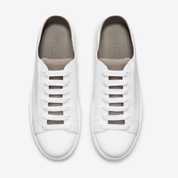 Vince Varley Leather Slide Sneakers