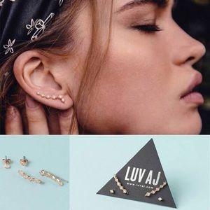 Jewelry - DIAMOND CRAWLER + STUDS RoseGold Swarovski Crystal