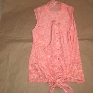Joie Tops - Joie sleeveless silk blouse. Size M