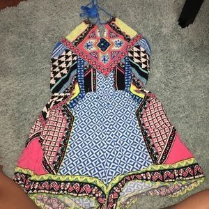 Flying Tomato Dresses & Skirts - Colorful aztec romper