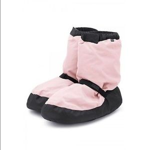 Bloch Warm Up Booties in Pink (Small)