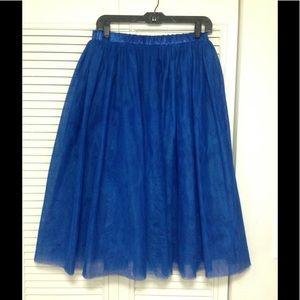 poshmark Dresses & Skirts - Royal blue TuTu/ Tulle Skirt