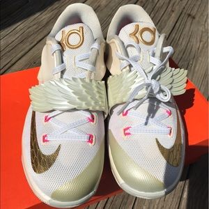 Nike Shoes - Kd7 aunt pearl size 5.0y