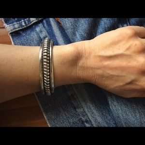 American Vintage Jewelry - ◼️◾️Vintage Navajo Sterling Cuff Bracelet◾️◼️