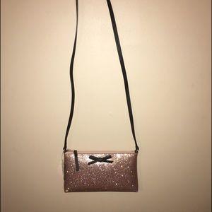Kate Spade New York glitter crossbody bag