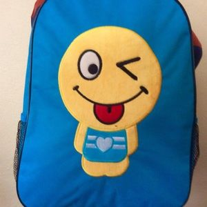 Other - New with tag Blue EMOJI BACKPACK ( final price)