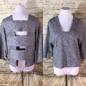 10 Crosby Derek Lam Sweaters - 10 Crosby Derek Lam Crop Sweater Open Back