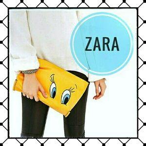 Zara Bags - EUC {Zara} Tweety Clutch