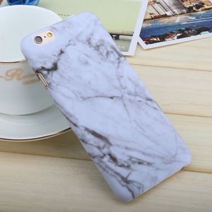 Accessories - the marble hard phone case