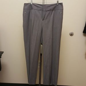 Massimo Alba Pants - Grey pin stripe pants