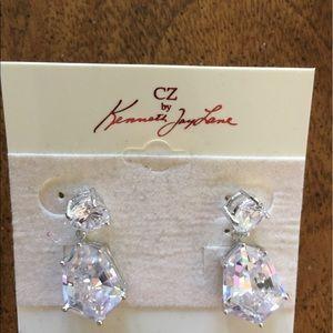 CZ by Kenneth Jay Lane post drop earrings