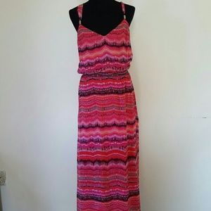 White House Black Market Full Maxi Dress Size M