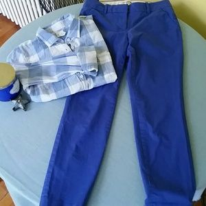 J. Crew Pants - JCrew cafe capri pants, NWOT