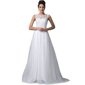 Dresses & Skirts - Lace and Tulle Bridal Gown Wedding Dress