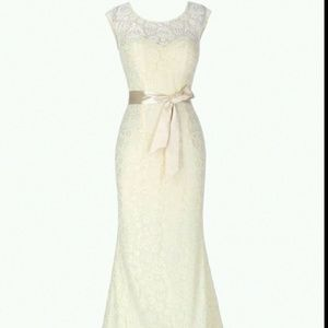 Dresses & Skirts - Ivory Lace Wedding Dress Bridal Gown