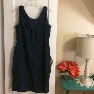 Simply Vera Vera Wang Navy Dress