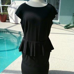 Mossimo Supply Co. Dresses & Skirts - Black Peplum Party Dress