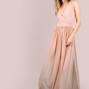 MakeMeChic Dresses & Skirts - Maxi High Slit Bodysuit