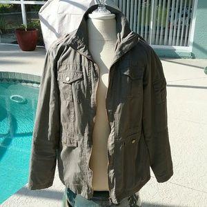 mark. Jackets & Blazers - Green Military Army Jacket