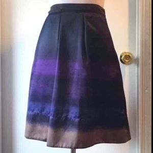 Mossimo Supply Co. Skirts - Satin Ombré Multicolor Lined Skirt, size 4