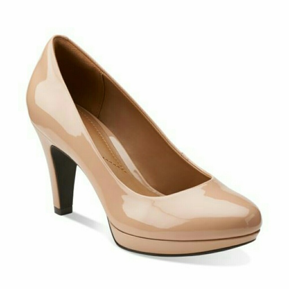 bd5a8d8099d Clarks Shoes - Clarks Brier Dolly Nude pumps