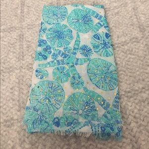 2eb722282833a6 Lilly Pulitzer for Target Accessories - NWOT Lilly for Target Sea Urchin  Scarf
