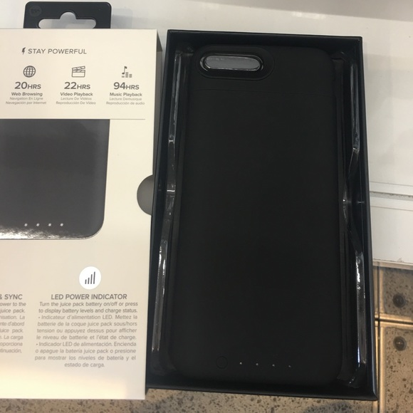 how to turn on mophie case iphone 7 plus