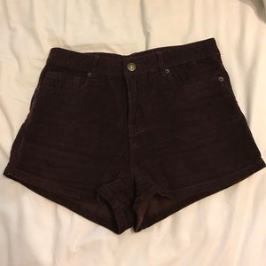 High waisted shorts from forever 21!!