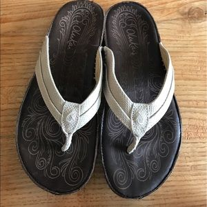 OluKai Shoes - Olukai haiku Elia leather sandal
