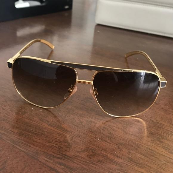 0b86f7222eed Louis Vuitton Accessories - Louis Vuitton aviator sunglasses