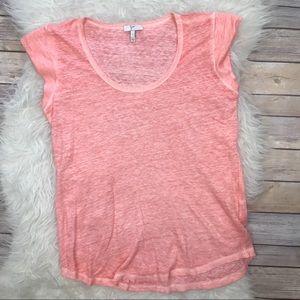Joie Tops - Joie Neyo Linen T-Shirt