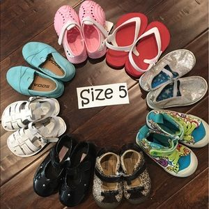 Stride Rite Other - Girls Size 5 Bundle of Shoes