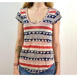 Hi-Line Tops - Hi-Line (Madewell) short sleeve v-neck t-shirt