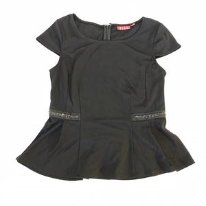 Elle Tops - Elle peplum top