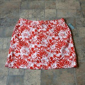 Classic Elements Woman Pants - BNWT! Tropical floral plus size skort