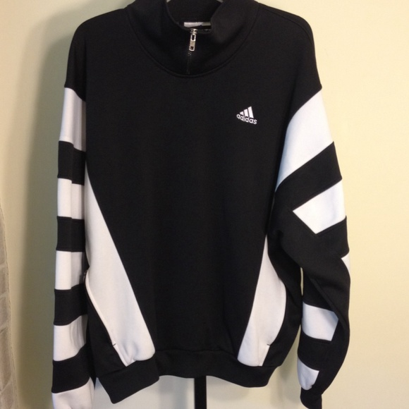 Vintage White Jacket Blackamp; Pullover Adidas 0wmNn8