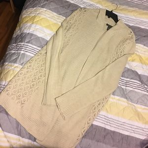 NWOT Eddie Bauer knit sweater cardigan