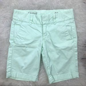 J. Crew Pants - J. Crew Mint Green Andie Shorts