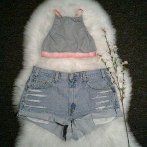 """Levi's Pants - Classic Levis 550 Vtg High Waist 36"""" Jean Shorts"""