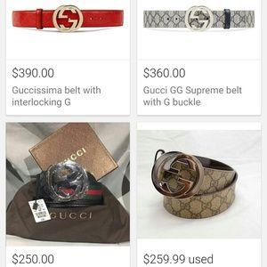 6fc93dcf7c6 Gucci Accessories - GUCCI men s belt -    114984 ...