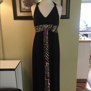 MSK Dresses & Skirts - Maxi Halter Dress-worn once